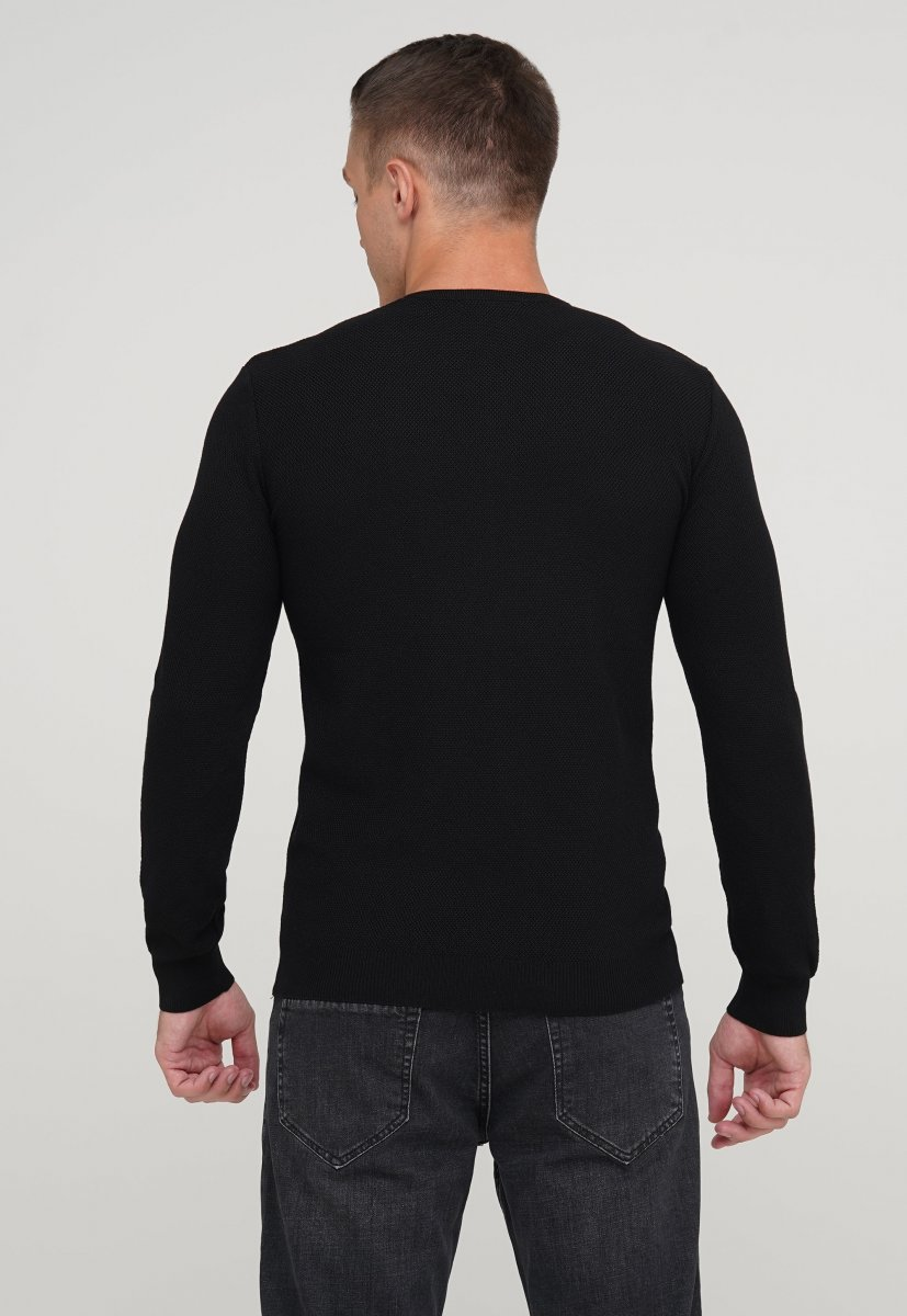 Свитер мужской Trend Collection 68107 Черный - Фото