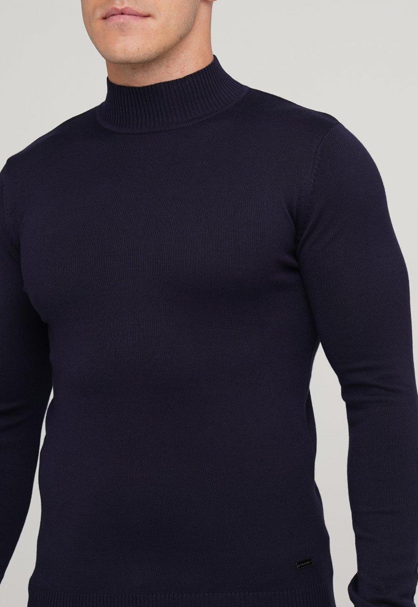 Гольф Trend Collection 636-1 Синий - Фото 1