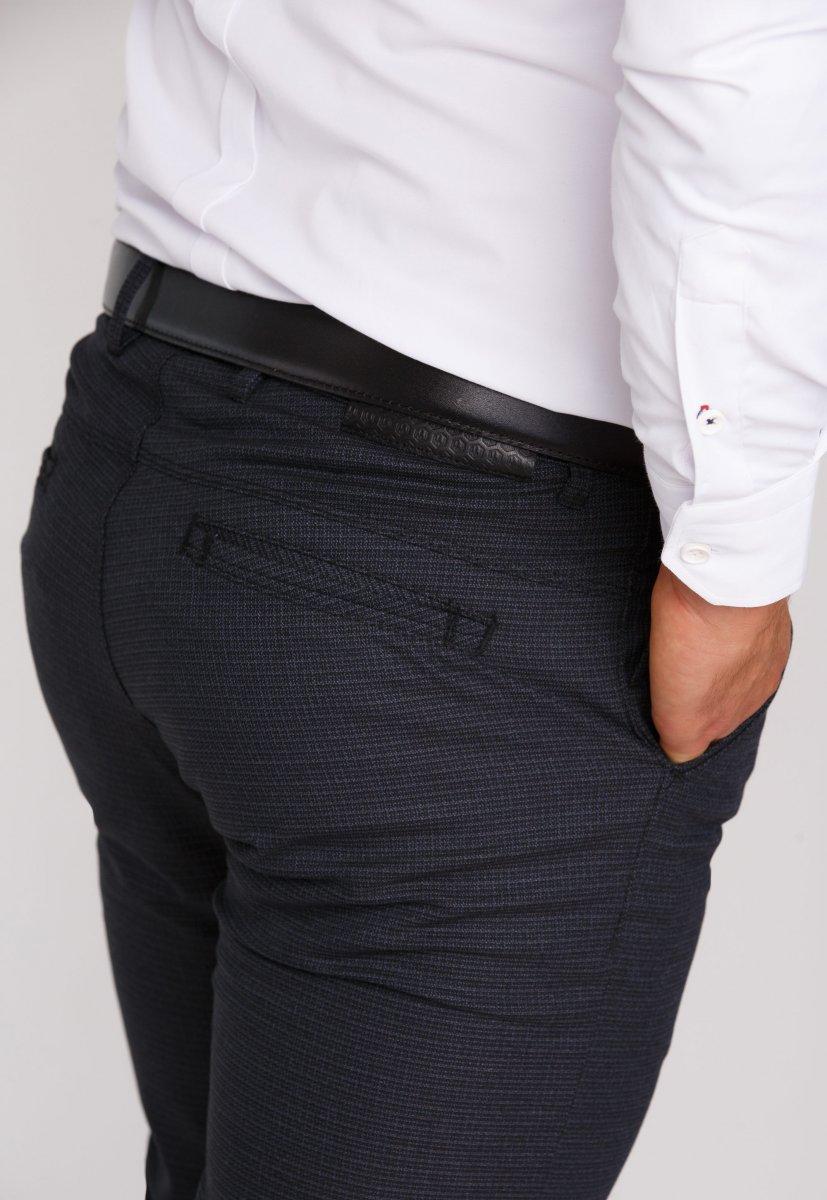 Брюки Trend Collection 20913 Черный + Серый - Фото