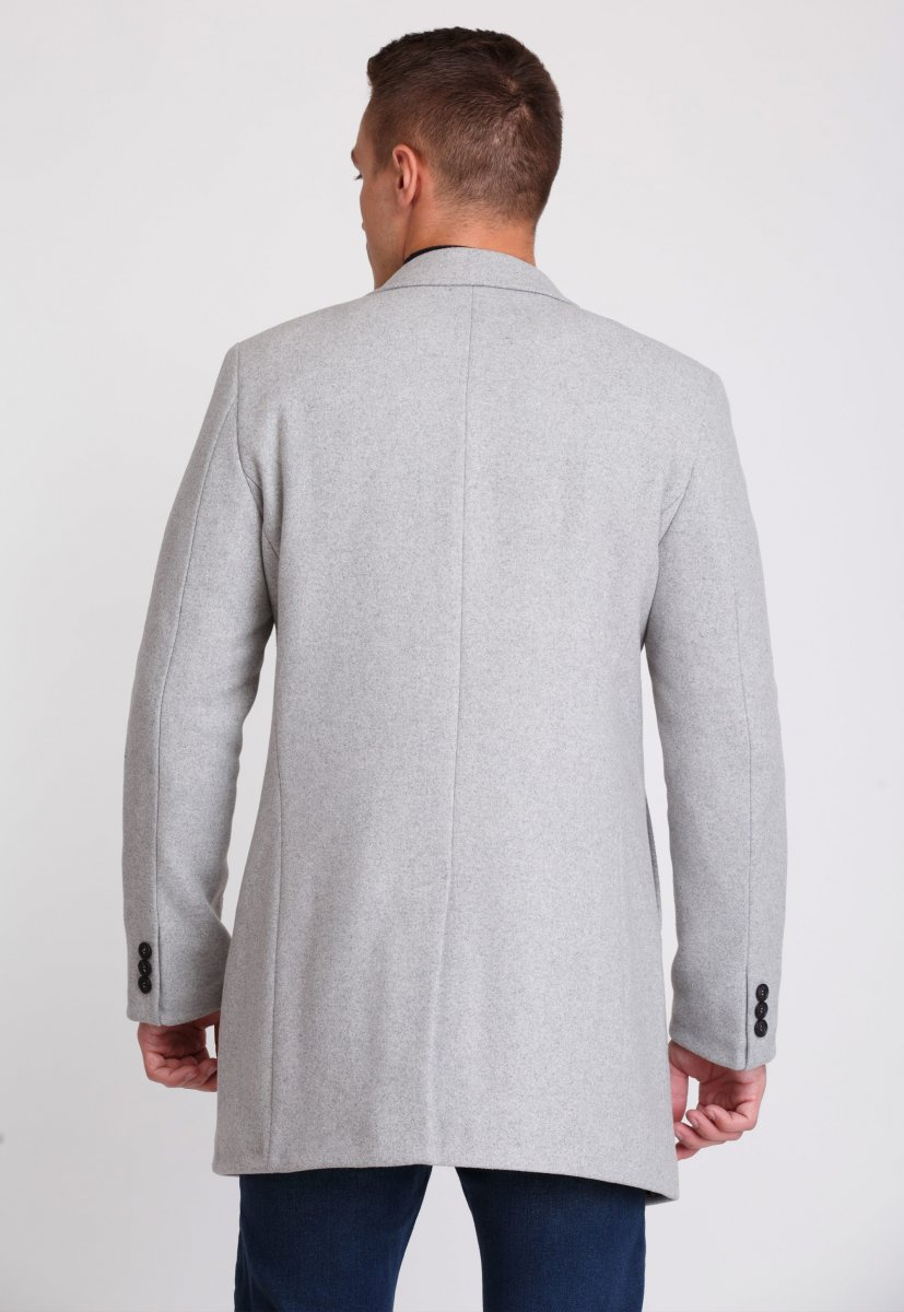 Пальто Trend Collection 553 Светло-серый - Фото 1