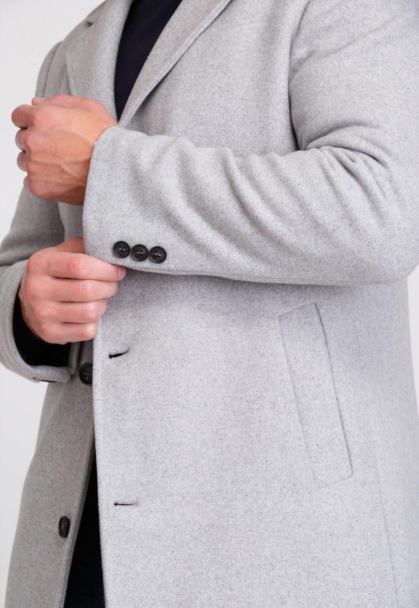 Пальто Trend Collection 553 Светло-серый - Фото 4