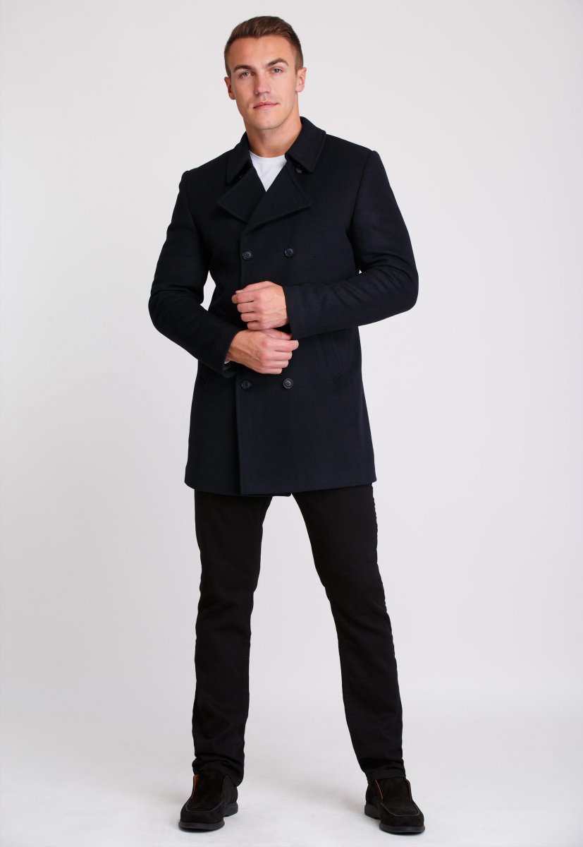 Пальто Trend Collection 506 Темно-синий - Фото 1