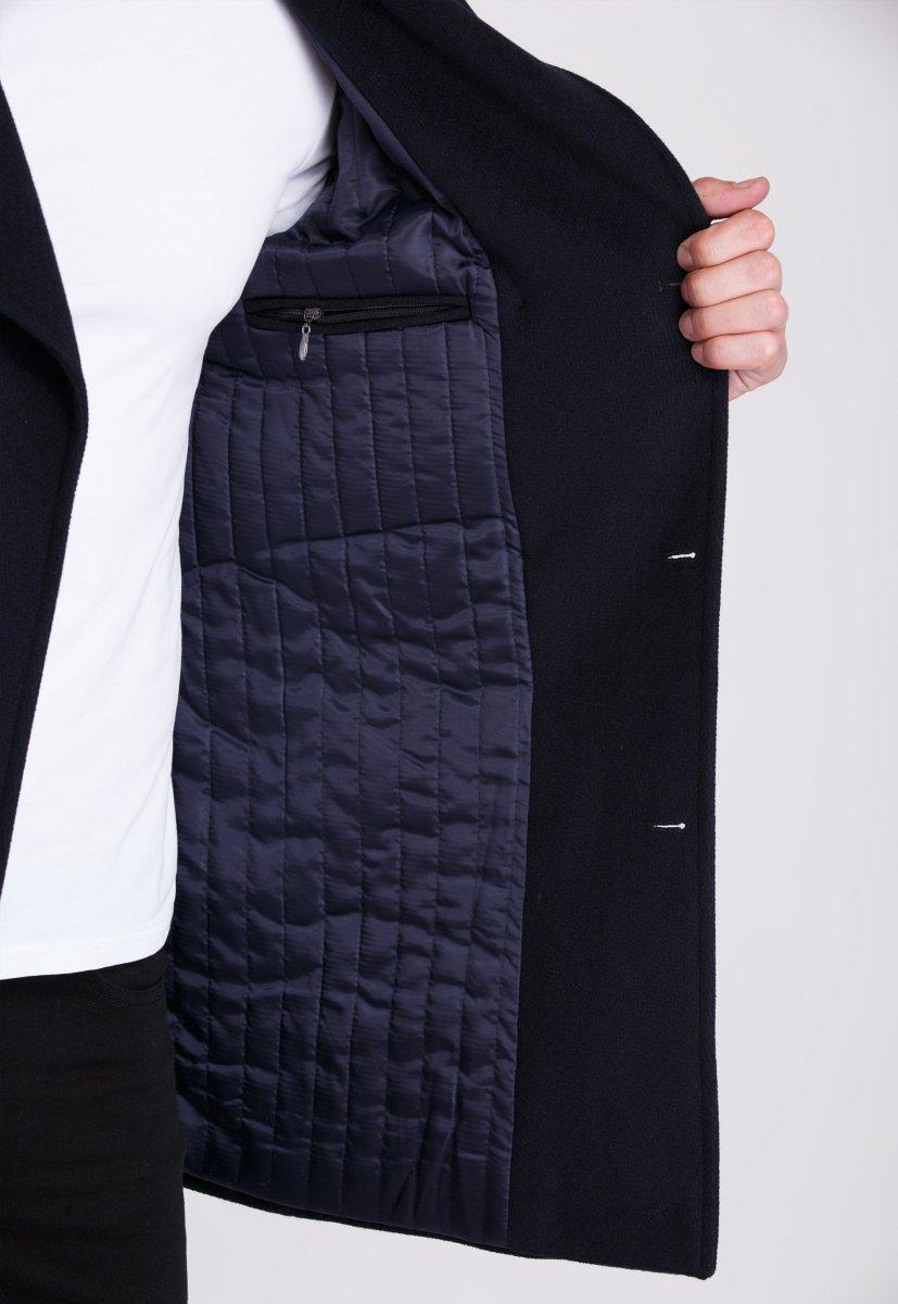 Пальто Trend Collection 506 Темно-синий - Фото 3