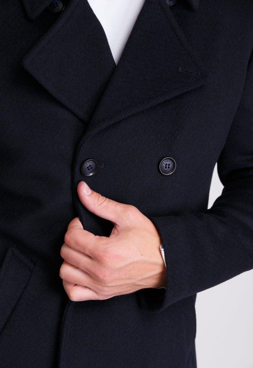 Пальто Trend Collection 506 Темно-синий - Фото 4