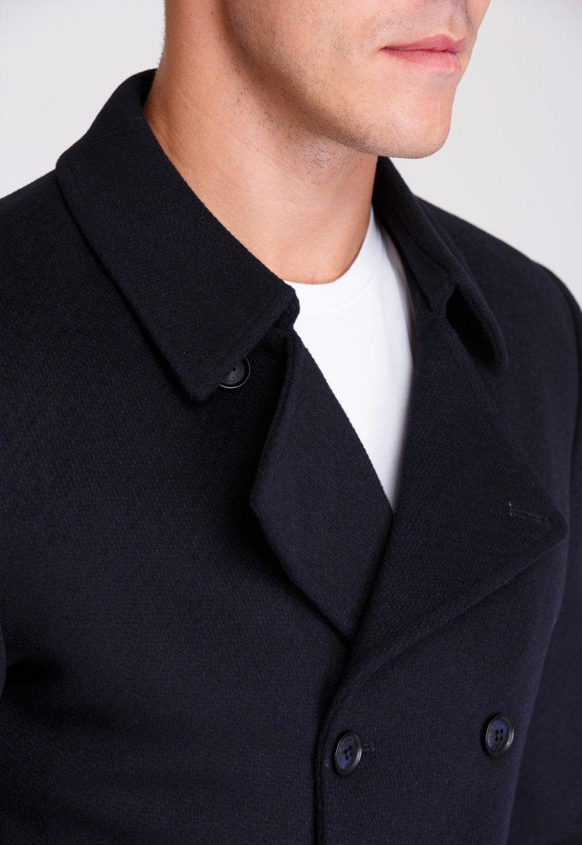 Пальто Trend Collection 506 Темно-синий - Фото 5