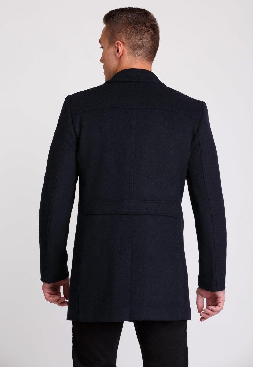 Пальто Trend Collection 506 Темно-синий - Фото 6