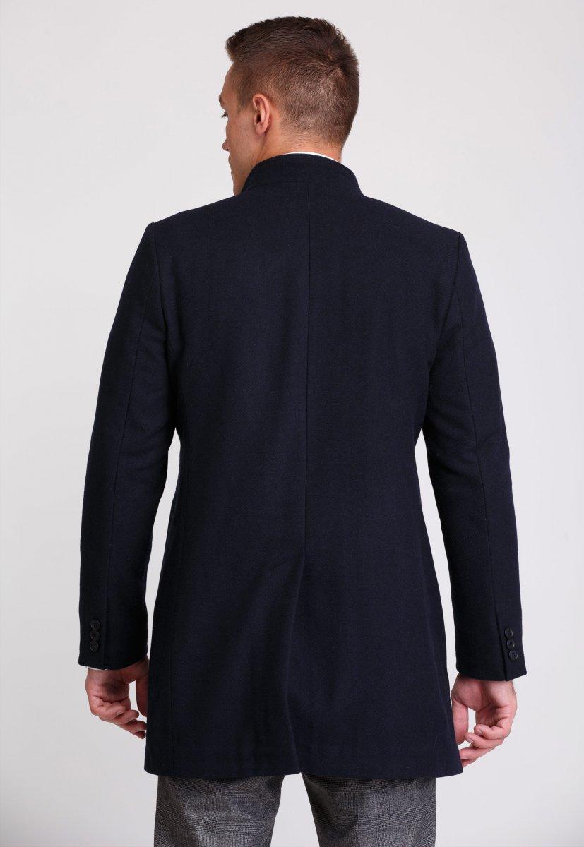Пальто Trend Collection 515 Темно-синий - Фото 1