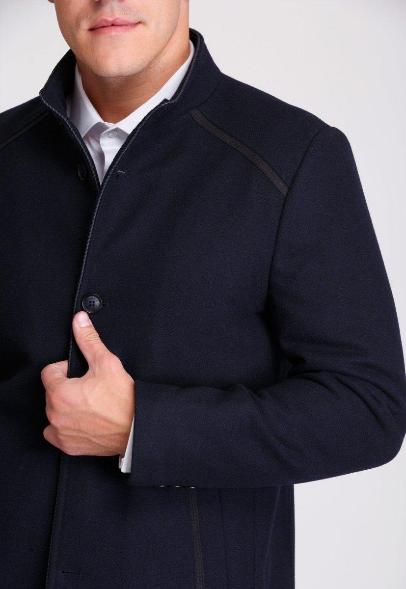Пальто Trend Collection 515 Темно-синий - Фото 3
