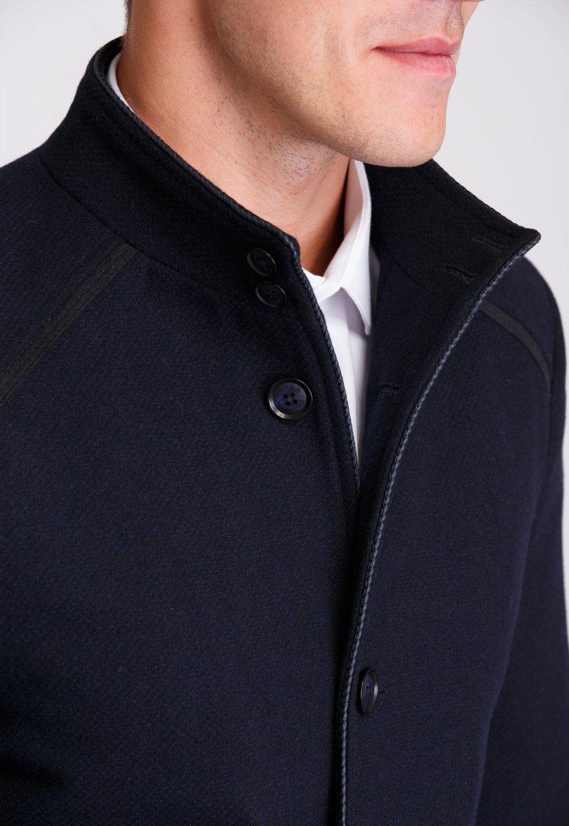 Пальто Trend Collection 515 Темно-синий - Фото 4