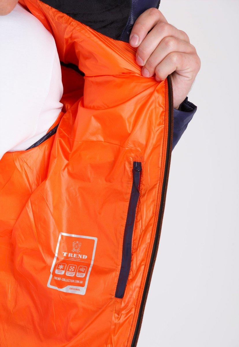 Куртка Trend Collection W04 Темно-синий №3 - Фото 4