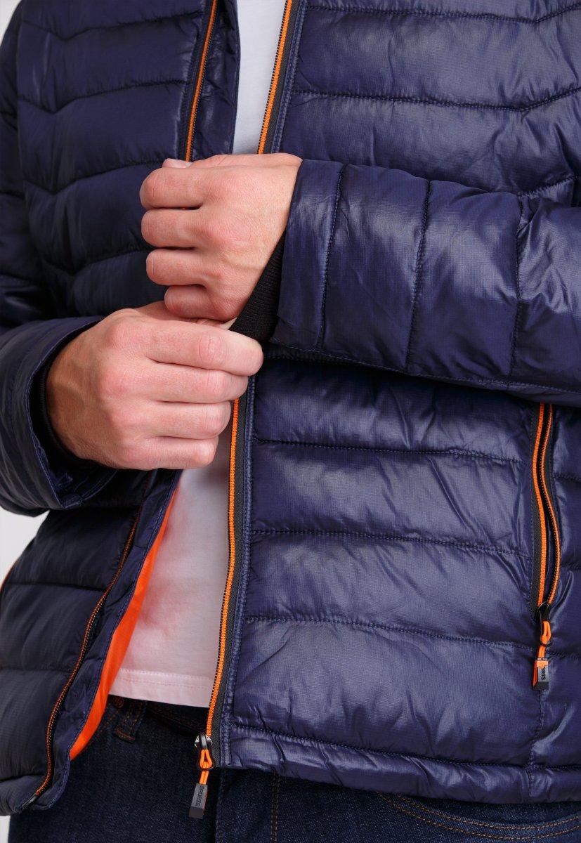 Куртка Trend Collection W04 Темно-синий №3 - Фото 5