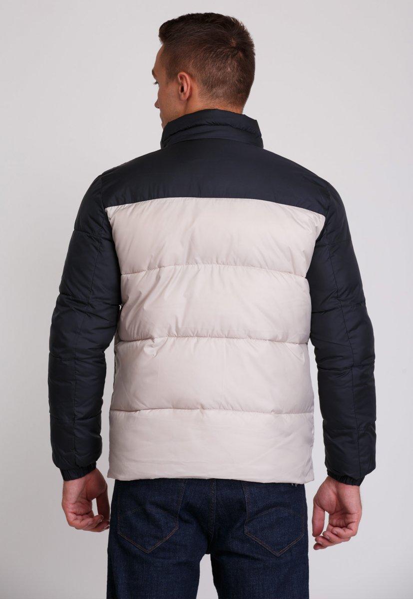 Куртка Trend Collection 20-36 Бежевый+синий - Фото 2