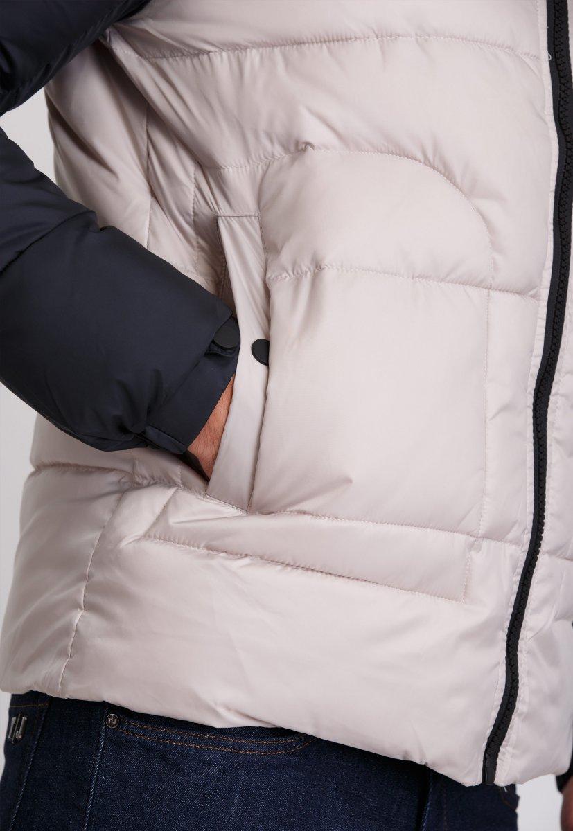 Куртка Trend Collection 20-36 Бежевый+синий - Фото 5