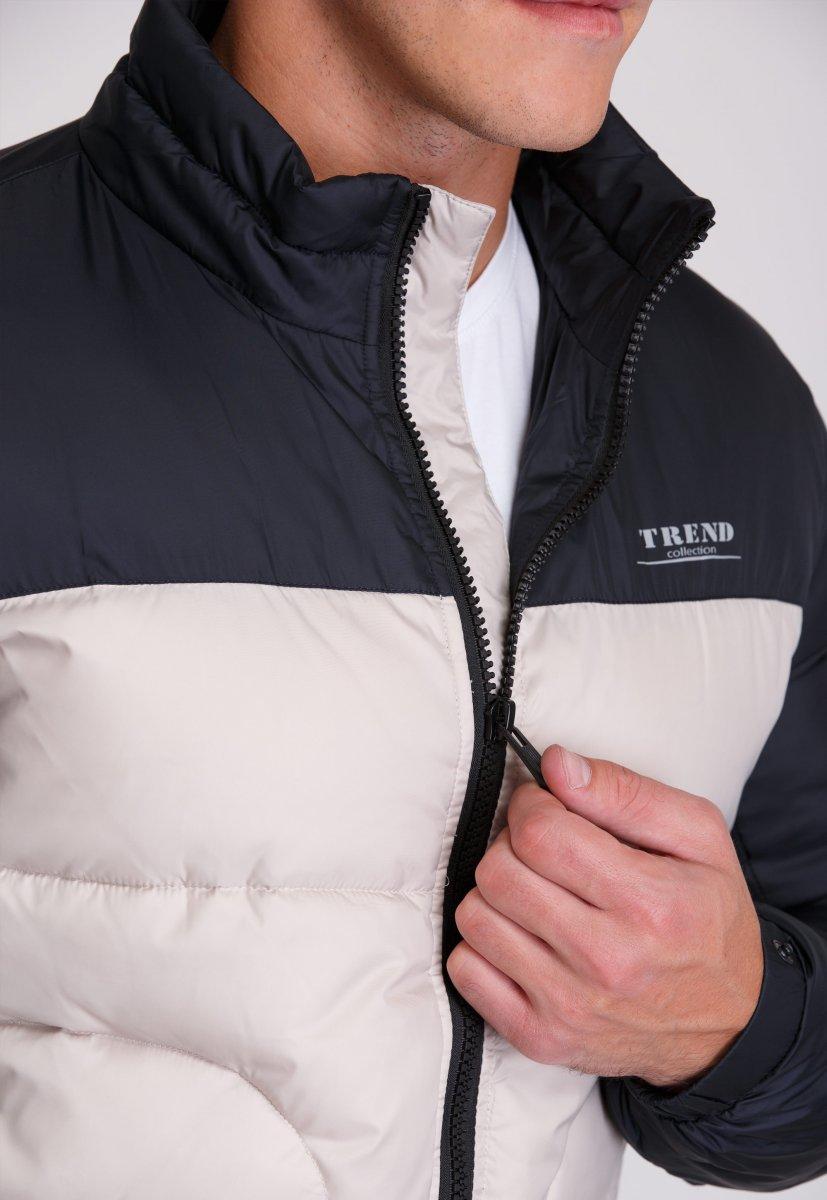 Куртка Trend Collection 20-36 Бежевый+синий - Фото 7