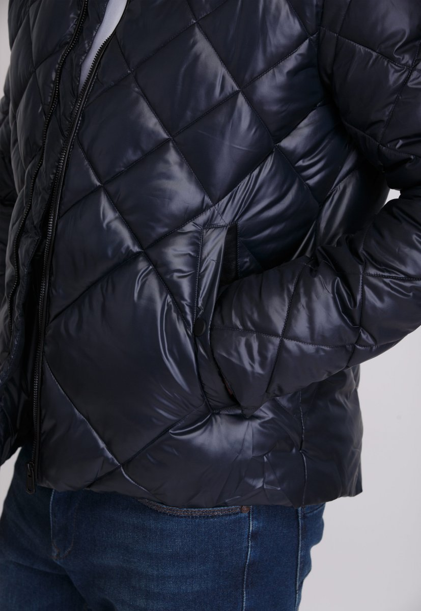 Куртка Trend Collection 20-28 Темно-синий - Фото 5
