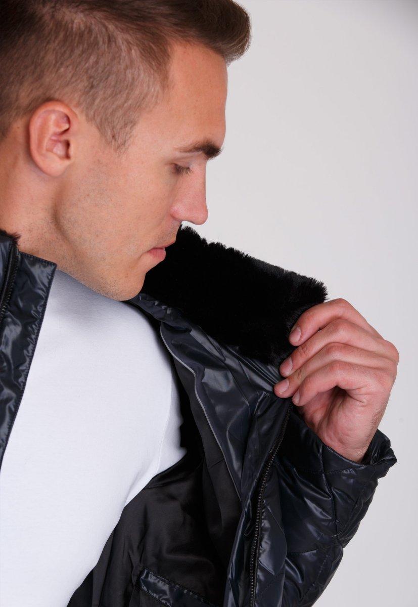Куртка Trend Collection 20-28 Темно-синий - Фото 6