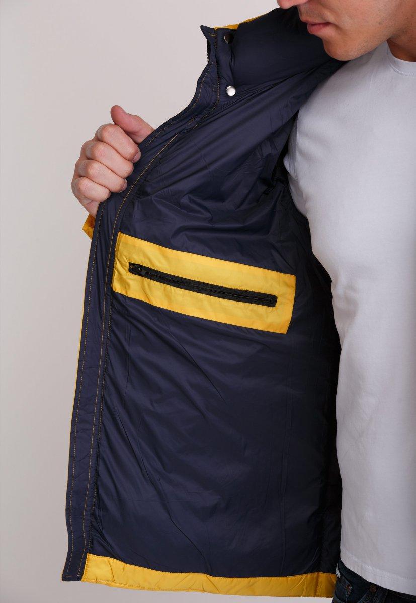 Куртка Trend Collection W37 Желтый №10 - Фото 4