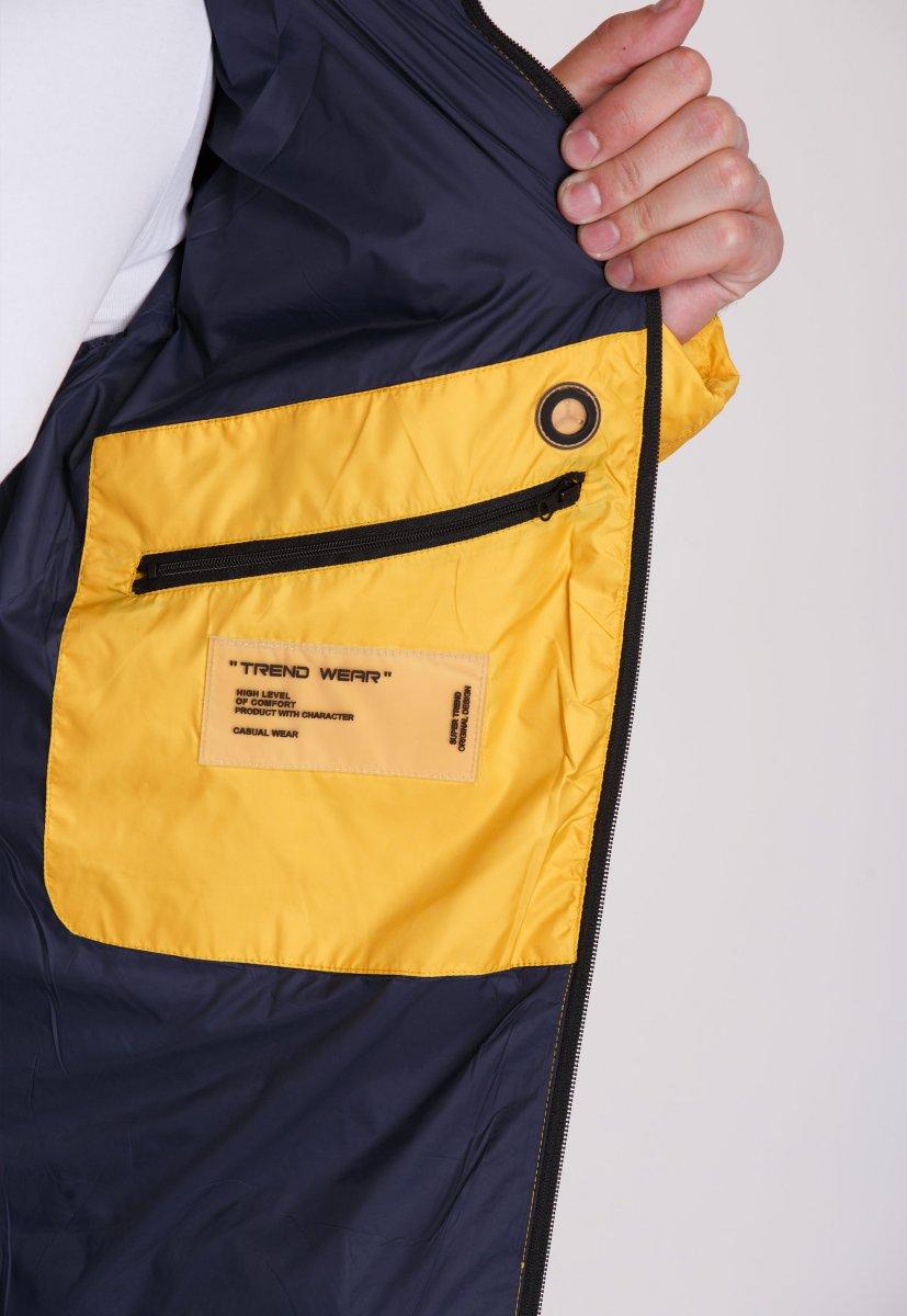 Куртка Trend Collection W37 Желтый №10 - Фото 5