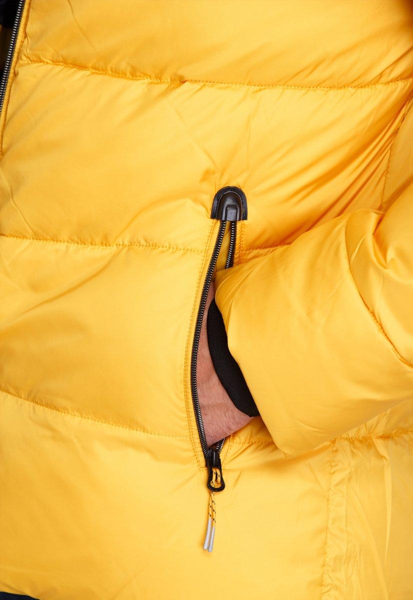 Куртка Trend Collection W37 Желтый №10 - Фото 7