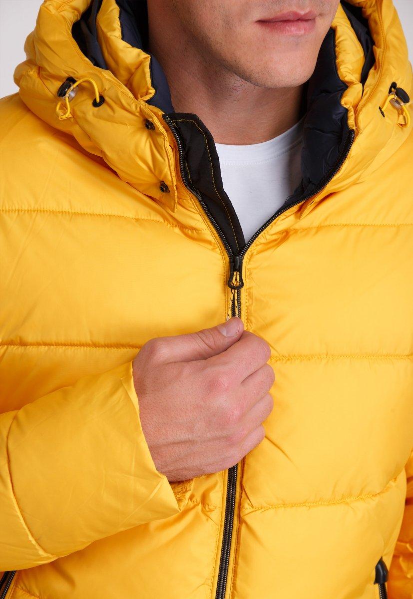 Куртка Trend Collection W37 Желтый №10 - Фото 8