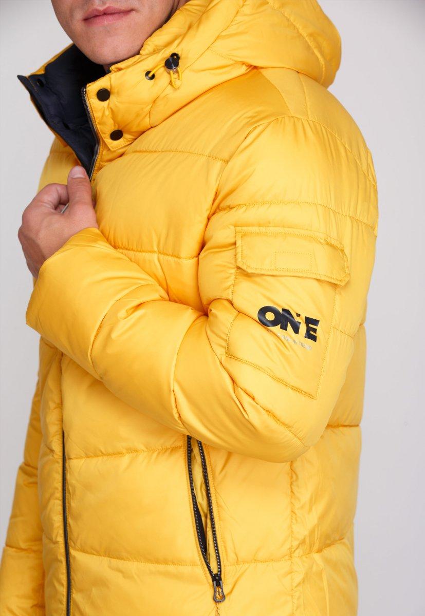Куртка Trend Collection W37 Желтый №10 - Фото 9