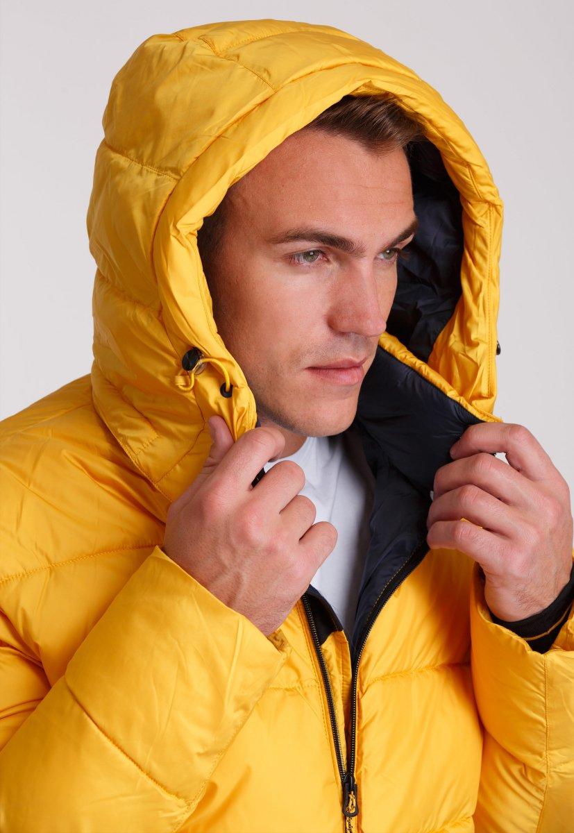 Куртка Trend Collection W37 Желтый №10 - Фото 10