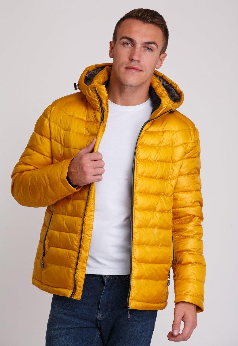 Куртка Trend Collection W04 Желтый №10 - Фото 2