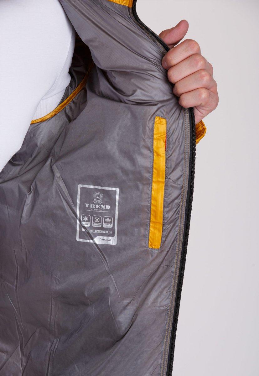 Куртка Trend Collection W04 Желтый №10 - Фото 4