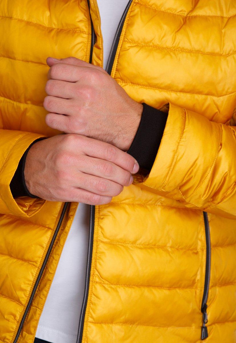 Куртка Trend Collection W04 Желтый №10 - Фото 5