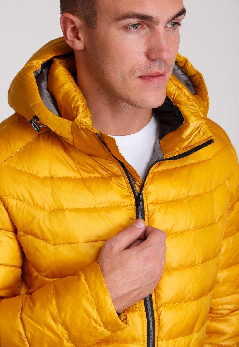 Куртка Trend Collection W04 Желтый №10 - Фото 7