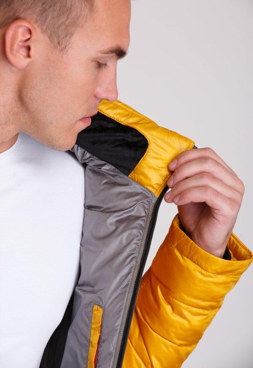 Куртка Trend Collection W04 Желтый №10 - Фото 8