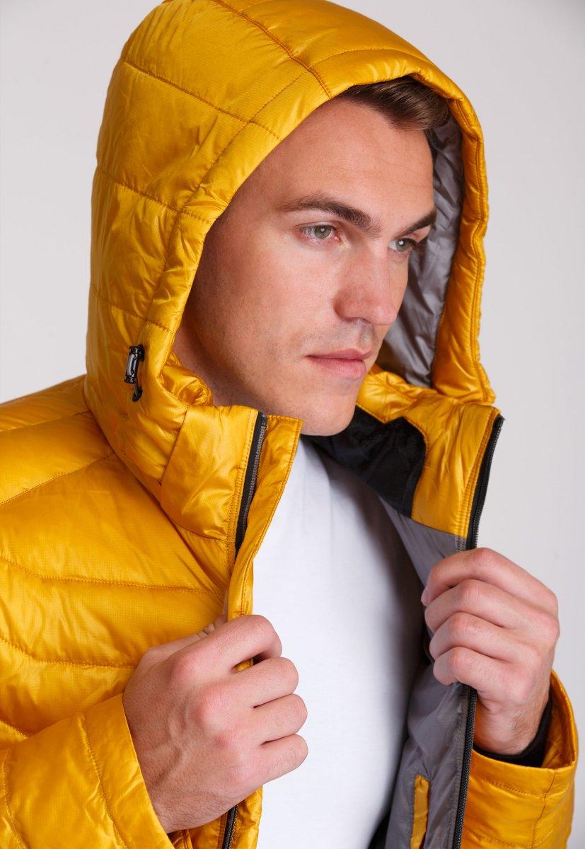 Куртка Trend Collection W04 Желтый №10 - Фото 9