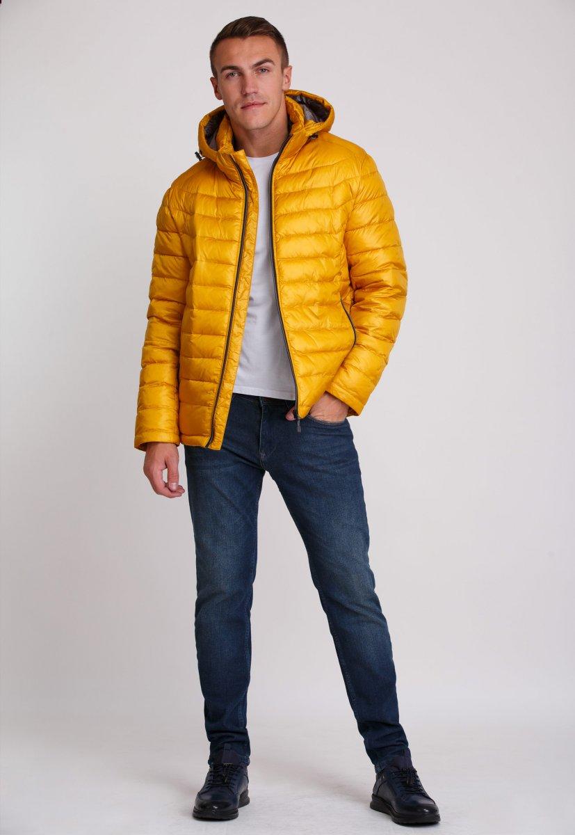 Куртка Trend Collection W04 Желтый №10 - Фото 10