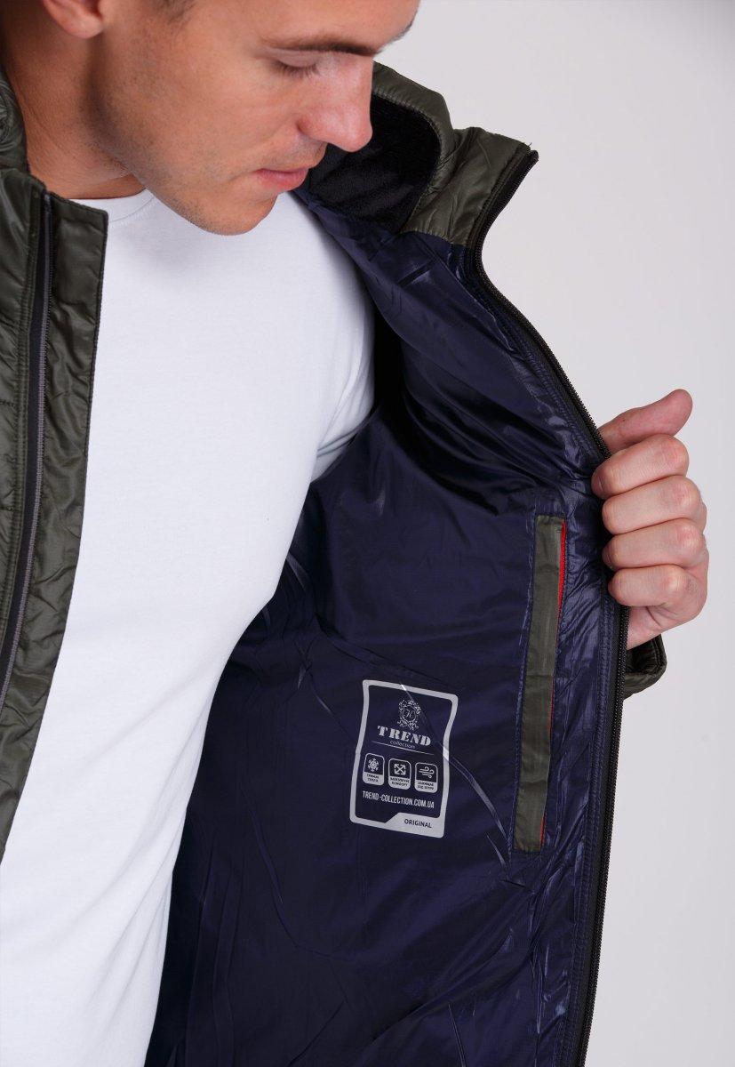 Куртка Trend Collection W04 Хаки №9 - Фото 5