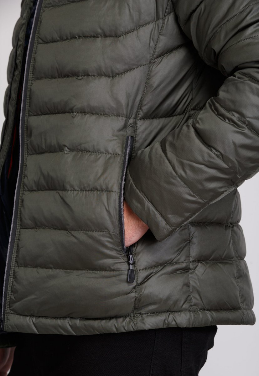 Куртка Trend Collection W04 Хаки №9 - Фото 6