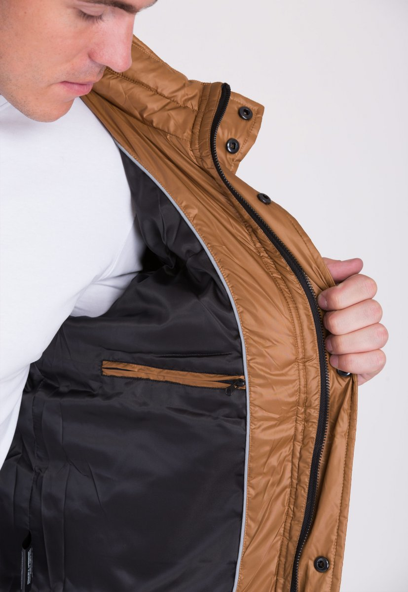 Куртка Trend Collection 20-125 Коричневый - Фото 3