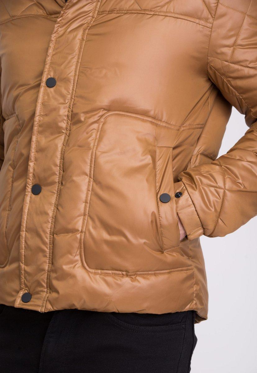 Куртка Trend Collection 20-125 Коричневый - Фото 6