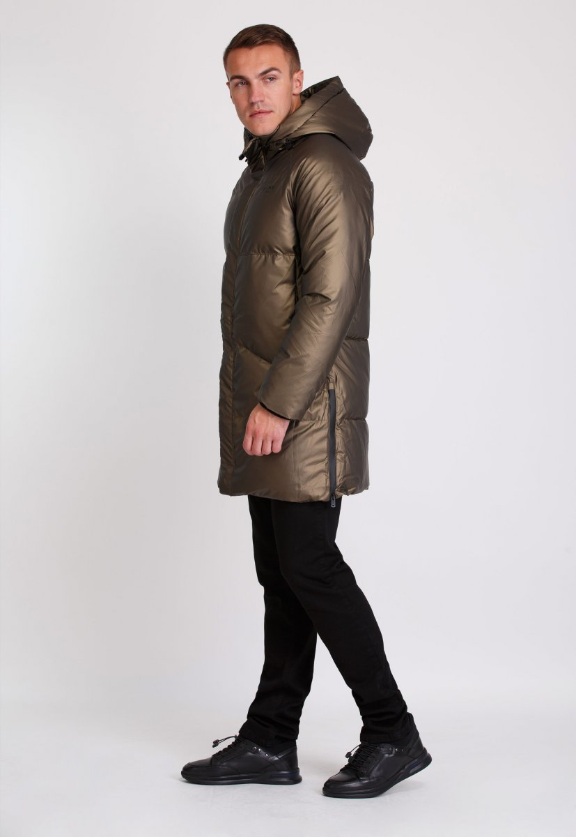 Куртка Trend Collection 20-135 Шампань+кофе - Фото 3