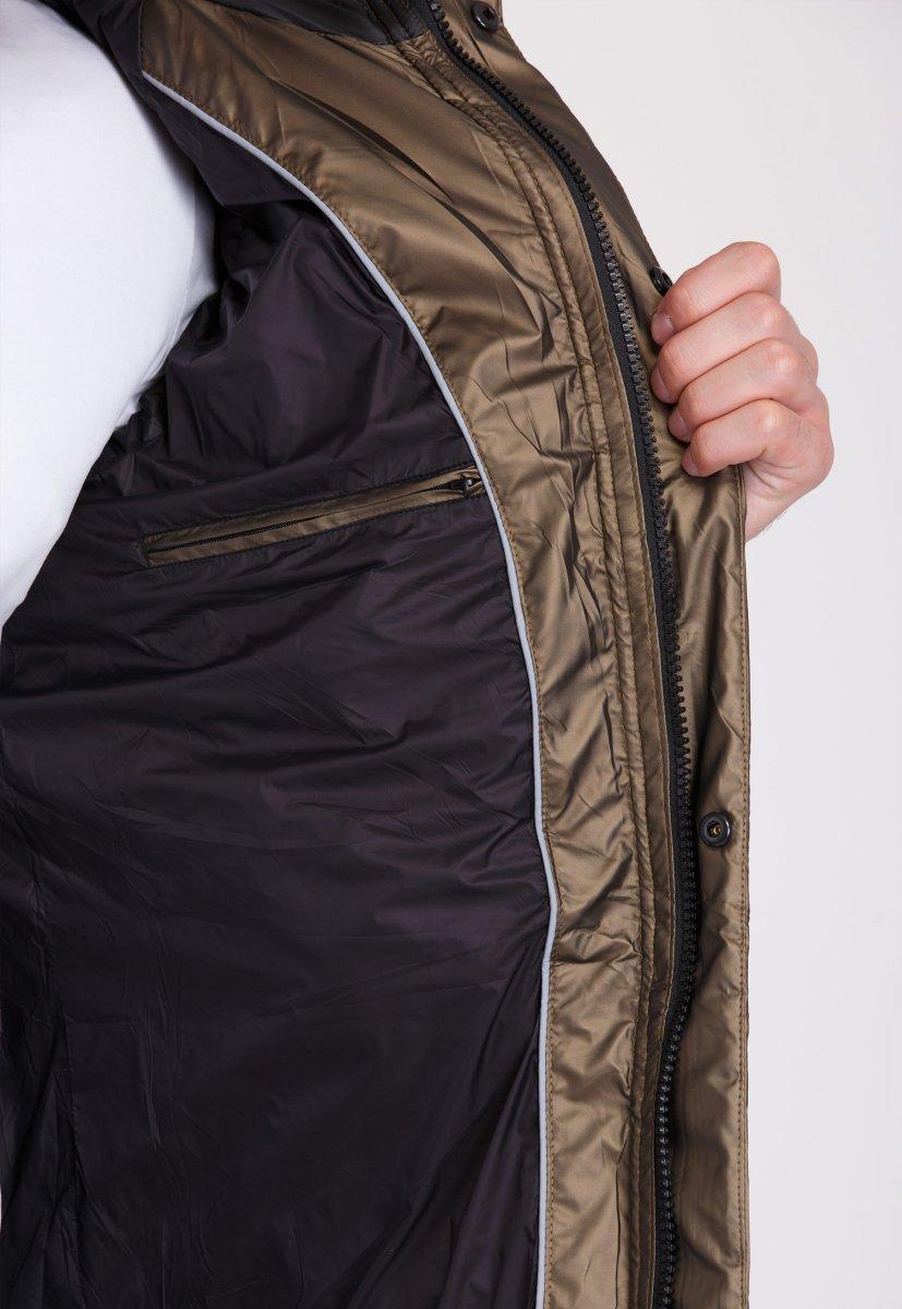 Куртка Trend Collection 20-135 Шампань+кофе - Фото 4