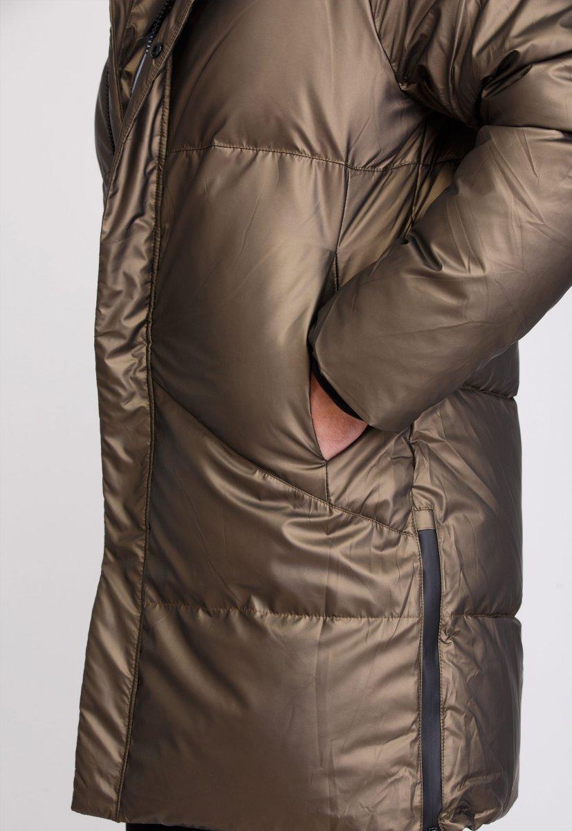 Куртка Trend Collection 20-135 Шампань+кофе - Фото 6