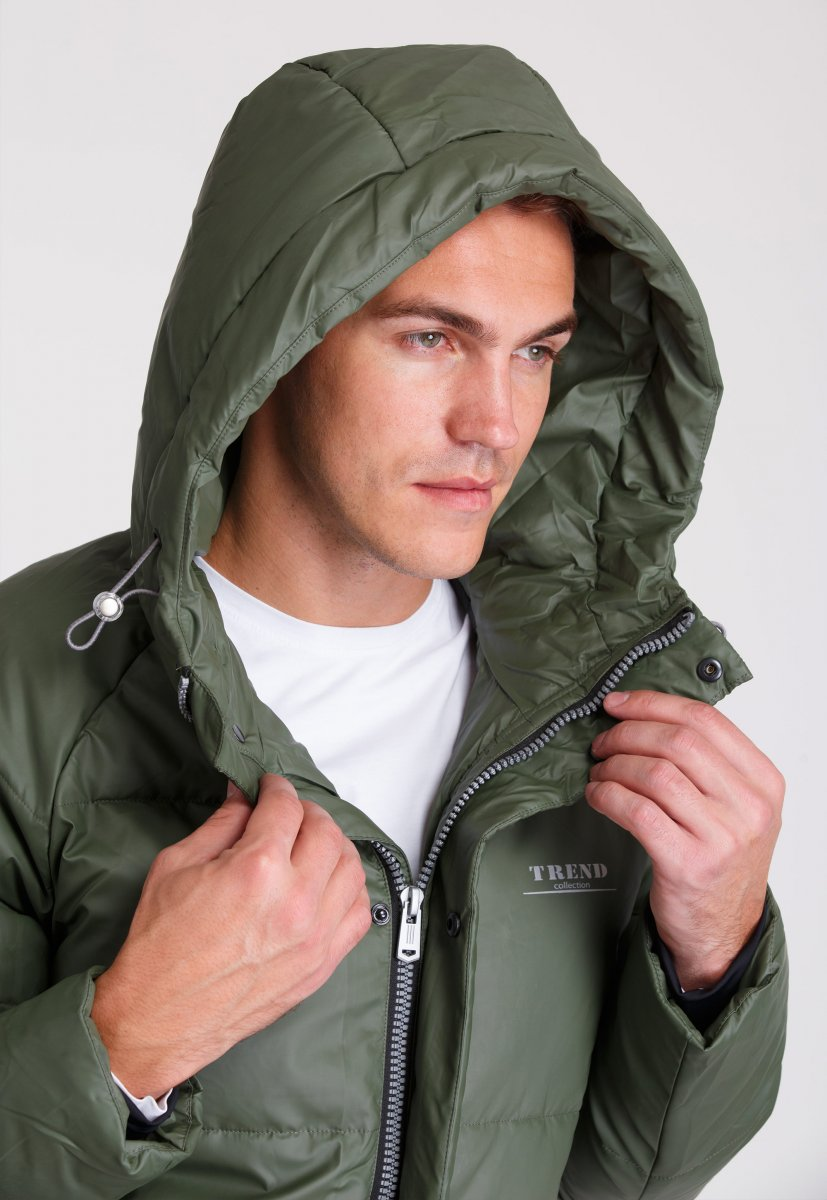 Куртка Trend Collection 20-169 Хаки - Фото 10