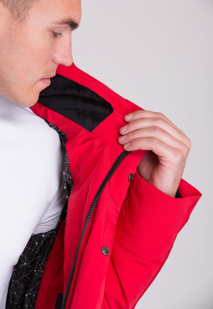 Куртка Trend Collection W36 Красный №2 - Фото 4