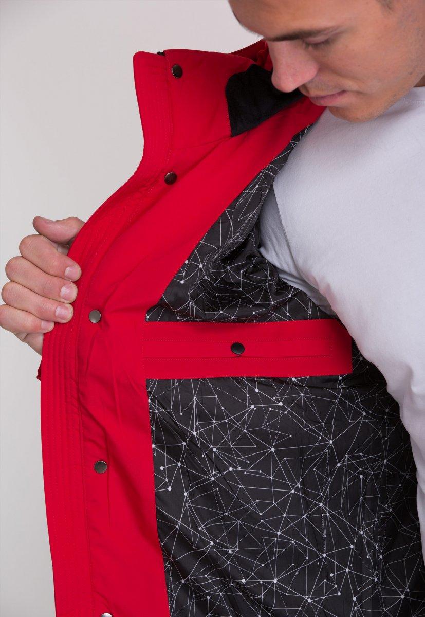 Куртка Trend Collection W36 Красный №2 - Фото 5