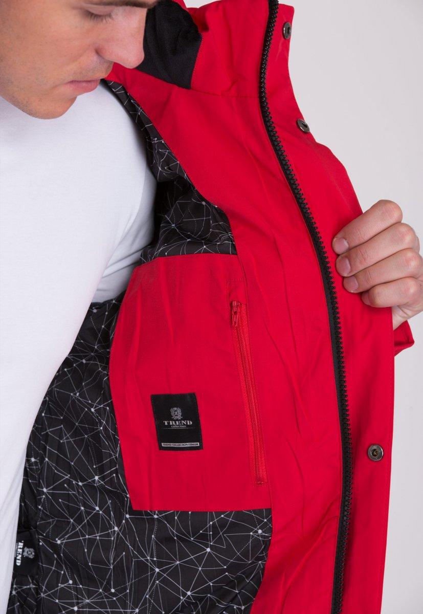 Куртка Trend Collection W36 Красный №2 - Фото 6