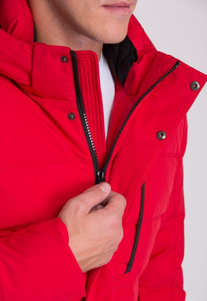 Куртка Trend Collection W36 Красный №2 - Фото 7