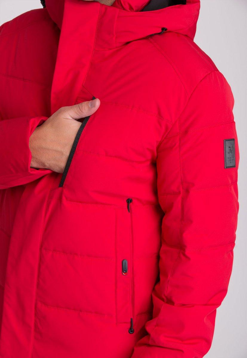 Куртка Trend Collection W36 Красный №2 - Фото 9