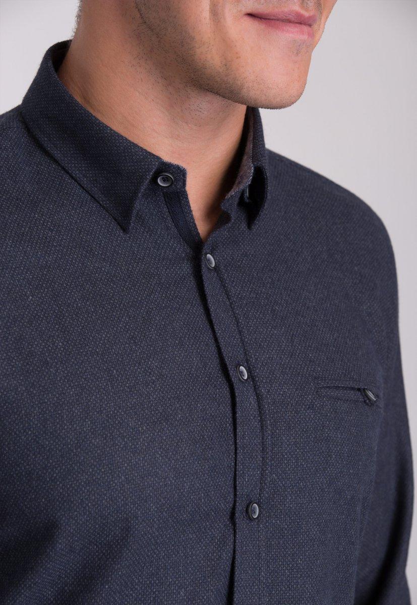 Рубашка мужская Trend Collection 7007 Серый №9 - Фото 1