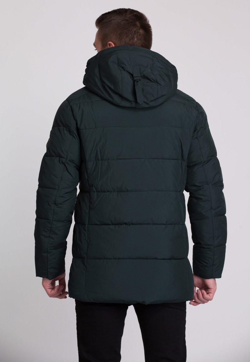 Куртка Trend Collection W09 Черный+зеленый №9 - Фото 1