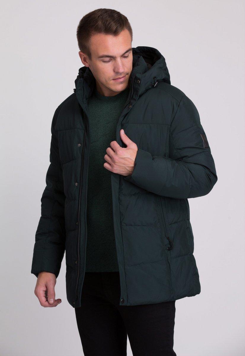 Куртка Trend Collection W09 Черный+зеленый №9 - Фото 2