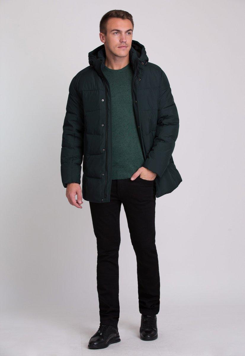 Куртка Trend Collection W09 Черный+зеленый №9 - Фото 3
